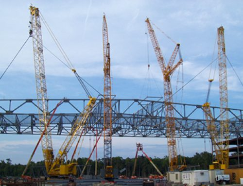 Construction of Boeing's New 787 Plant in Charleston, SC
