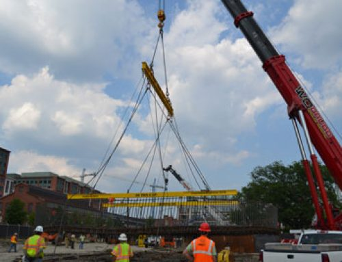 Hanes Supply and Engineered Lifting Techologies Work Together on a Complicated Lift Plan