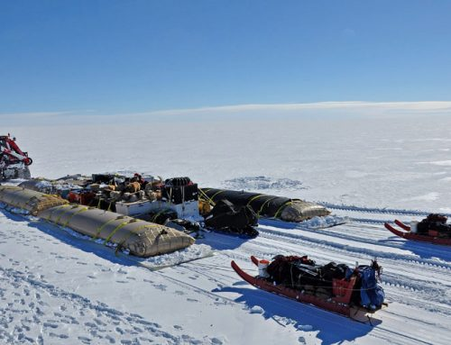North Pole: Rigging Around the Globe