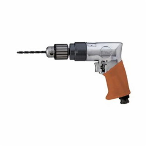 Sioux® Force® 5445R Pistol Grip Drill, 3/8 In Key, 8 In OAL (Bare Tool)