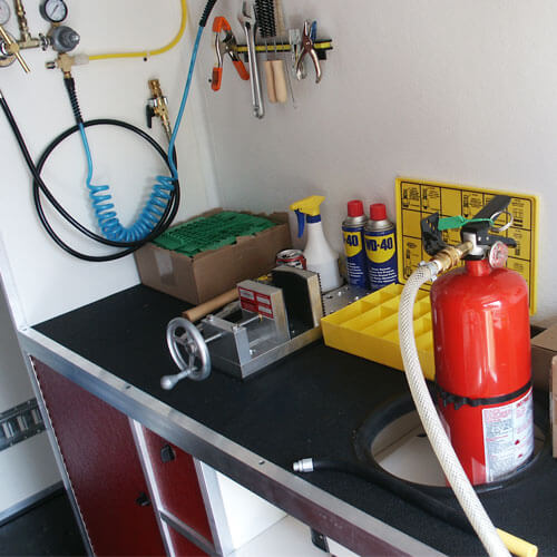 fire extinguisher hydro-testing
