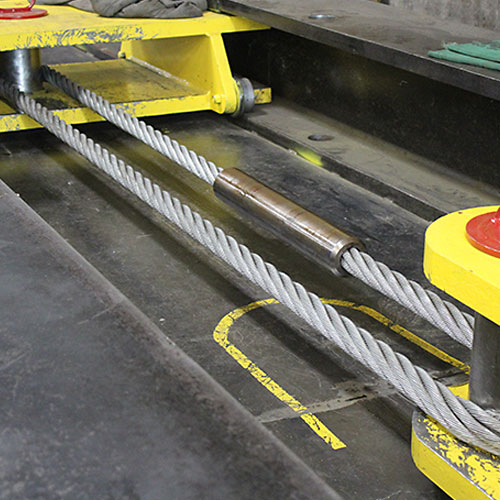 Wire Rope Pre-Stretching